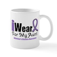 I Wear Purple Aunt Mug