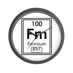 Fermium Wall Clock