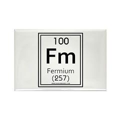Fermium Rectangle Magnet (10 pack)