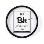 Berkelium Wall Clock