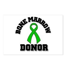 Bone Marrow Donor Ribbon Postcards (Package of 8)