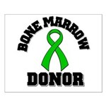 Bone Marrow Donor Ribbon Small Poster
