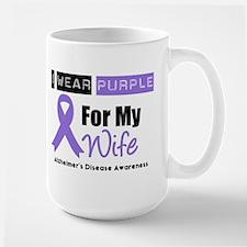 I Wear Purple (Wife) Mug