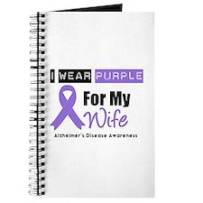 I Wear Purple (Wife) Journal