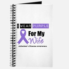 I Wear Purple (Wife) Journal