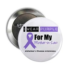 """Alzheimer's Mother-in-Law 2.25"""" Button"""