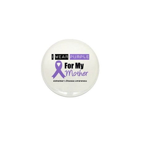 Alzheimer's Mother Mini Button