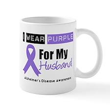 I Wear Purple (Husband) Mug