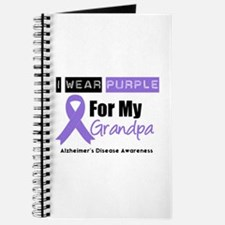 I Wear Purple (Grandpa) Journal