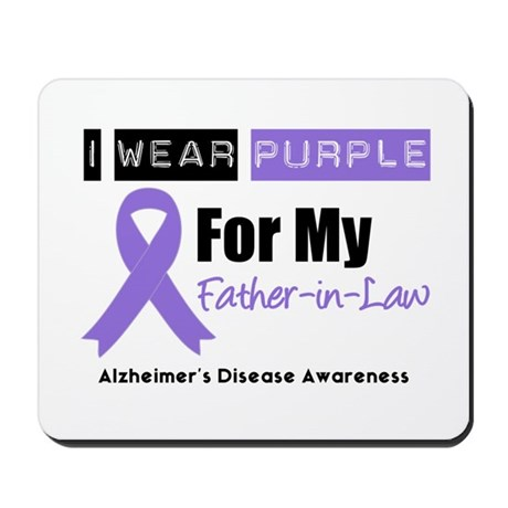 Alzheimer's Father-in-Law Mousepad