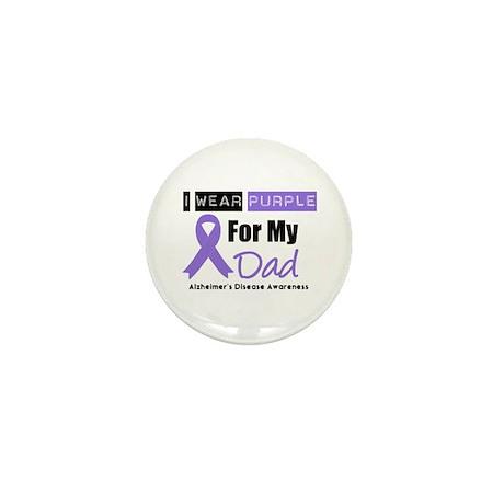 I Wear Purple (Dad) Mini Button (10 pack)