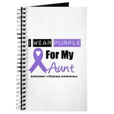 I Wear Purple Aunt Journal