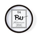 Plutonium Wall Clock