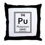Plutonium Throw Pillow