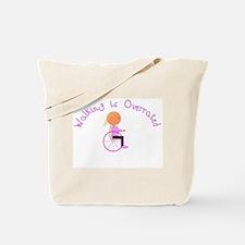 Girl - MJ Art Tote Bag