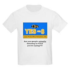 No on prop 8 - T-Shirt