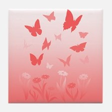 Butterfly & Flowers Landscape Painting Gifts