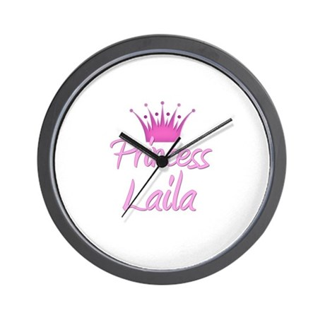 Princess Laila Wall Clock