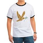 Golden Dove Ringer T