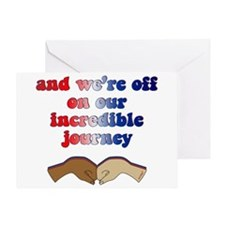 Incredible Journey- Obama Victory Greeting Card