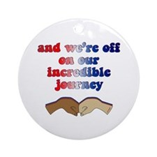Incredible Journey- Obama Victory Ornament (Round)
