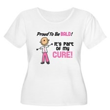 Bald 1 Breast Cancer (SFT) T-Shirt