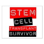 Stem Cell Transplant Survivor Small Poster
