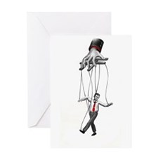 Cool Puppet Greeting Card