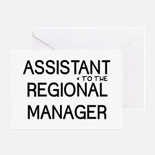 Assistant Manager Greeting Card