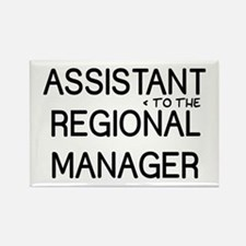 Assistant Manager Rectangle Magnet