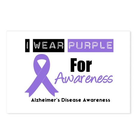 Alzheimer's Awareness Postcards (Package of 8)