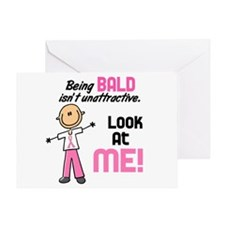 Bald 2 Pink (SFT) Greeting Card