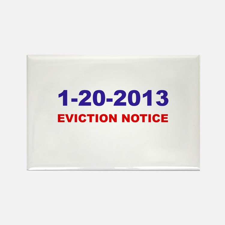Eviction Notice Rectangle Magnet