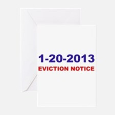 Eviction Notice Greeting Cards (Pk of 10)