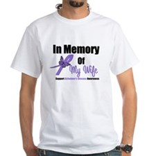Alzheimer's In Memory Wife Shirt