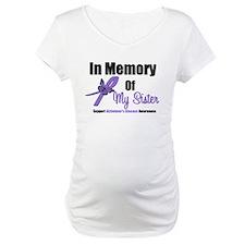 Alzheimer's In Memory Sister Shirt