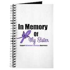 Alzheimer's In Memory Sister Journal