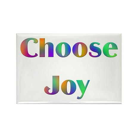 Choose Joy Design #752 Rectangle Magnet