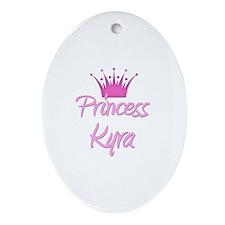 Princess Kyra Oval Ornament