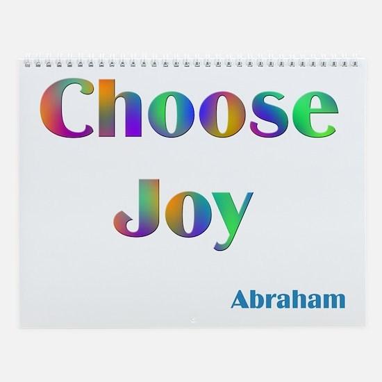 Choose Joy #752 Abraham Sayings Wall Calendar