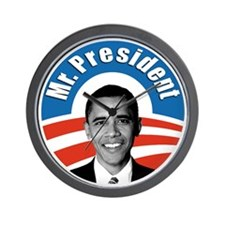 Obama - Mr President Wall Clock
