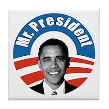 Obama - Mr President Tile Coaster