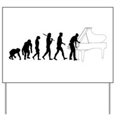 Piano Tuner Yard Sign