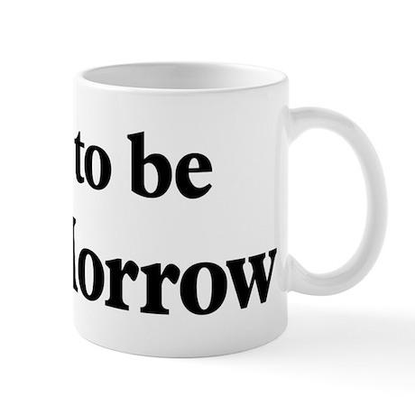 Soon to be Mrs. Morrow Mug