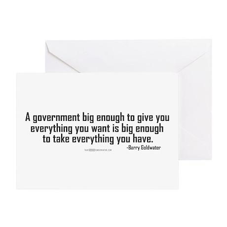 Big Enough Greeting Card