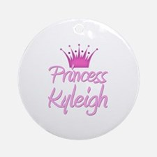 Princess Kyleigh Ornament (Round)
