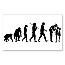 Security guard Safety Patrol Rectangle Sticker 50