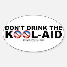 Obama Kool-Aid Oval Decal