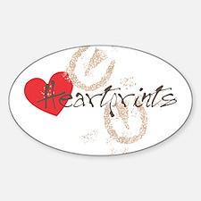 HeartPrints Decal