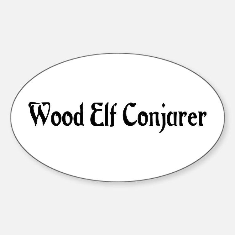 Wood Elf Conjurer Oval Decal